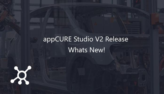 AppCURE Studio Version 2 Release